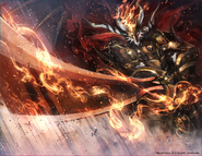 Purgatory Knights Leader, Demios Sword Chaos Execution! (Full Art)