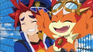 Bal and Gao happy