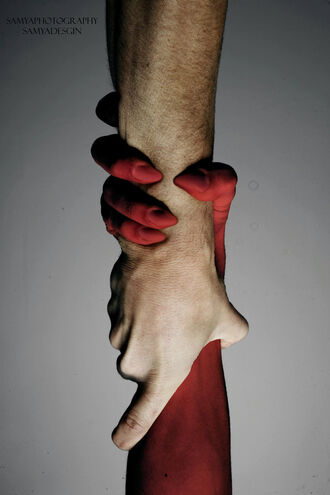 Satans Hand by Samya Photography