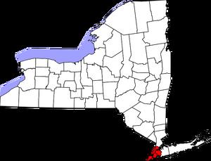 Map of New York Highlighting New York City.png