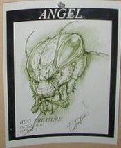 Bug demon behind the scenes 4