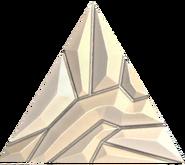 Quartz equilateral triangle