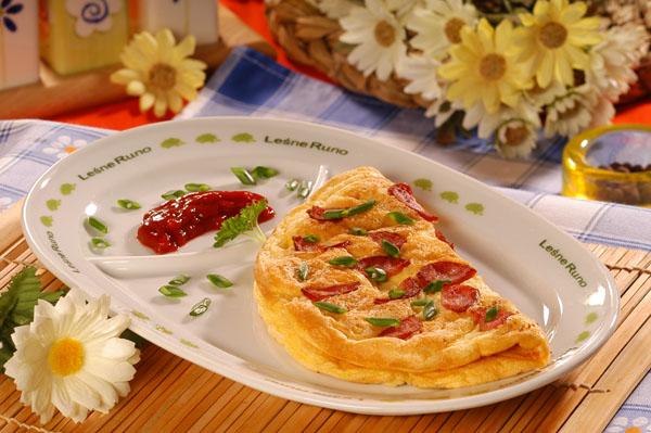 檔案:Omlet z kielbasa.jpg
