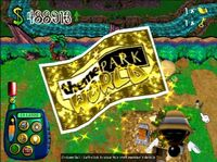 Theme park world Golden Tickets