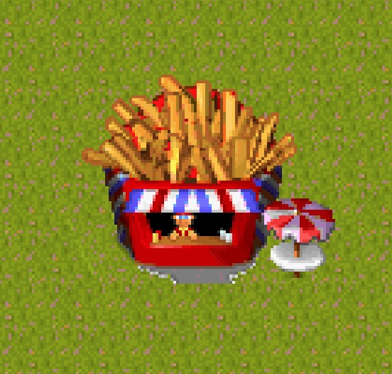 Theme park Big Time Fries