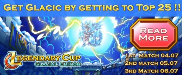 Legendary Cup- Glacial Edition Upgraded Banner