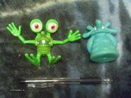 Bump in the Night Mr Bumpy and Squishington Subway toys