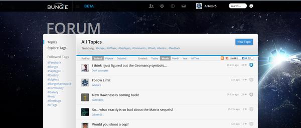 Forum copy