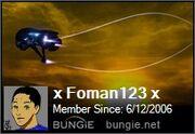 X Foman123 x bungie card