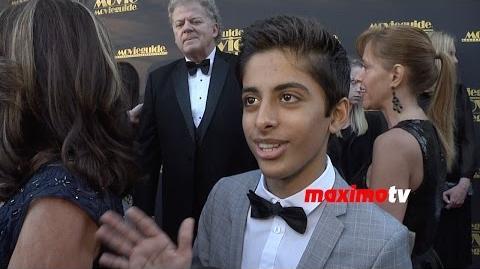 Karan Brar Interview Movieguide Awards 2015 Red Carpet