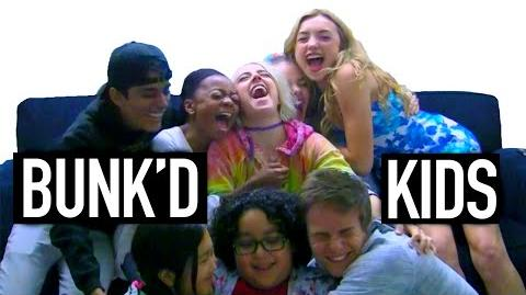 The BUNK'D Disney Channel Kids