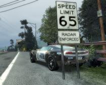 Speed Limit 65 Radar Enforced