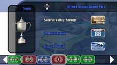 Championship stage 13 - Steel Storm Grand Prix - B2 menu