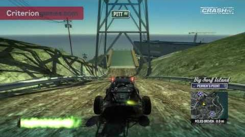 Burnout Paradise Big Surf Island Tour part 2 - CRASH TV 34