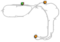 Airport Terminal 1 & 2 - map