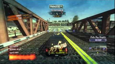 Burnout Paradise - Inferno Van Burning Route