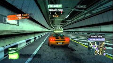 Burnout Paradise - GT Concept Burning Route