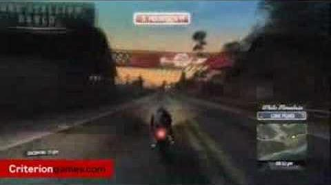 Burnout Paradise - Bike's and Night Time Footage