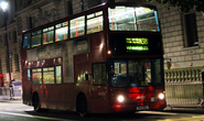 N381 to Trafalgar Square