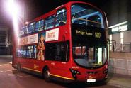 N89 to Trafalgar Square