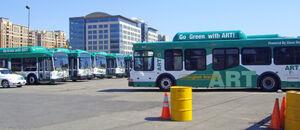 CNG buses Arlington Transit ART 07 2010 9538