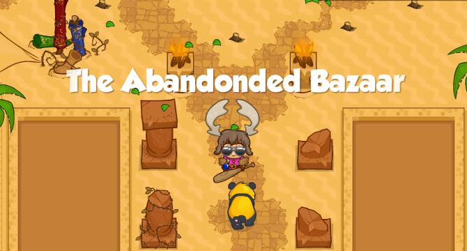 The Abandoned Bazaar Banner