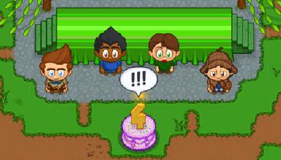 Anniversary 4 Cake
