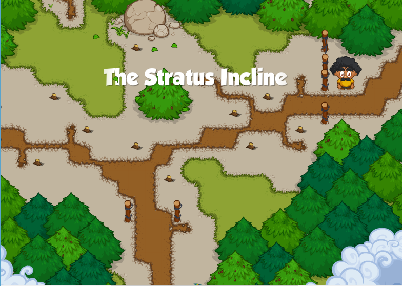 The Stratus Incline Banner