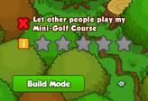 Bushwhacker mini golf 4 rating