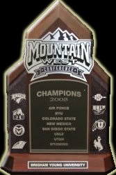 Mountain West Confrence Trophy