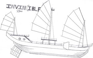 The Invincible, Starboard