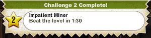Impatient Miner