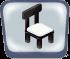 Black Marble Chair