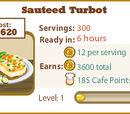 Sauteed Turbot