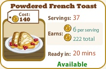 Powdered French Toast