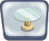 Glasstop Egyptian Table