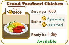 Grand Tandoori Chicken