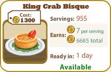 King Crab Bisque
