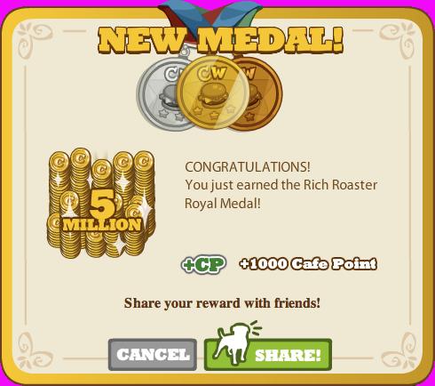 Rich Roaster Royal Medal