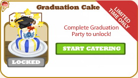Graduation Cake locked