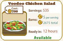 Voodoo Chicken Salad