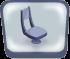 Blue MajesTIK Chair