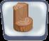 Log Stump Seat