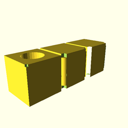 OpenSCAD win 586 ati-radeon-x300 hdrv opencsgtest-output render-tests-actual