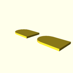 OpenSCAD mac 64-bit nvidia-geforce-gt cdiv tests regression throwntogethertest null-polygons-expected