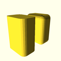 OpenSCAD win 586 ati-radeon-x300 hdrv regression opencsgtest example022-expected