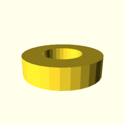 OpenSCAD linux ppc64 gallium-0.4-on hvub regression opencsgtest rotate extrude dxf-tests-expected