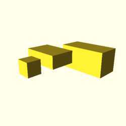 OpenSCAD linux ppc64 gallium-0.4-on hvub regression throwntogethertest cube-tests-expected