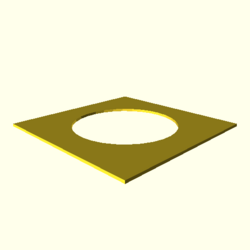 OpenSCAD linux ppc64 gallium-0.4-on hvub opencsgtest-output circle-double-actual