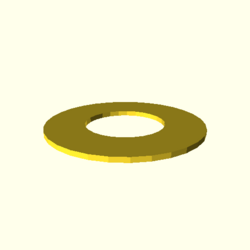 OpenSCAD linux ppc64 gallium-0.4-on hvub throwntogethertest-output circle-small-actual